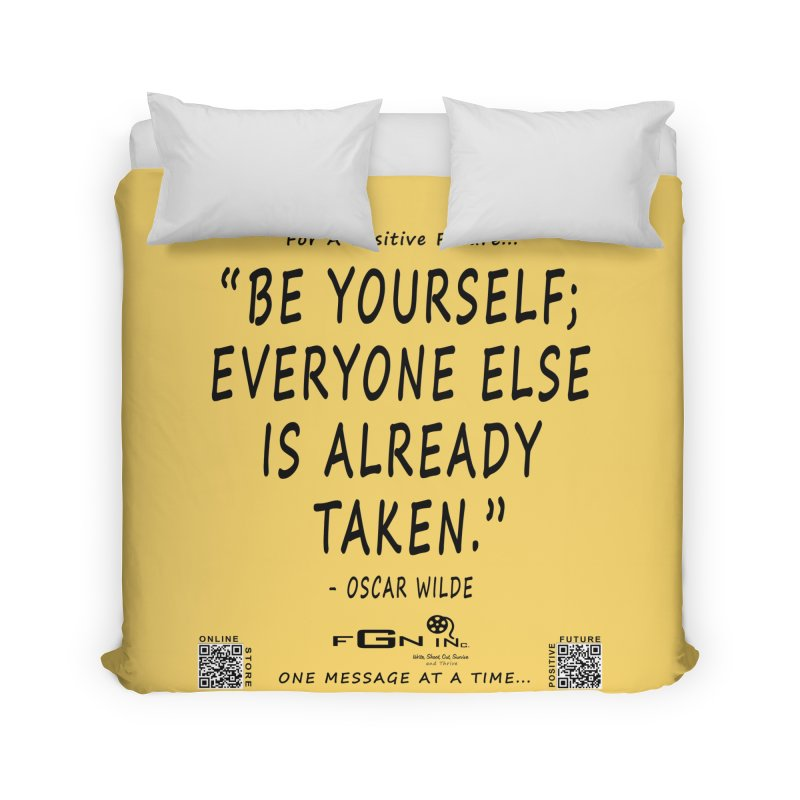 710 - Be Yourself Home Duvet by FGN Inc. Online Shop