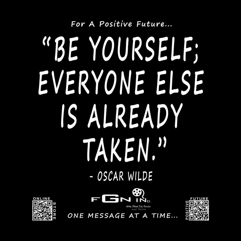 710A - Be Yourself Men's T-Shirt by FGN Inc. Online Shop