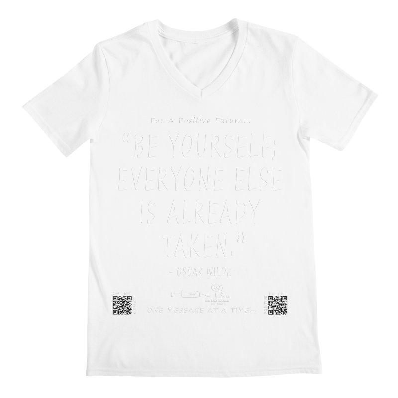 710A - Be Yourself Men's V-Neck by FGN Inc. Online Shop
