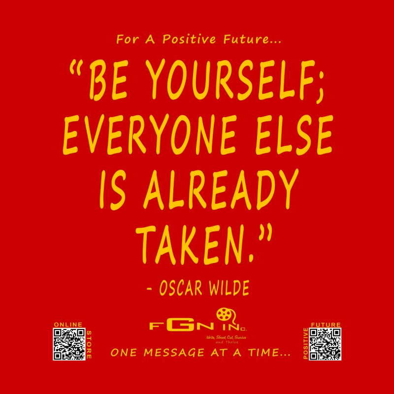710B - Be Yourself Women's Longsleeve T-Shirt by FGN Inc. Online Shop