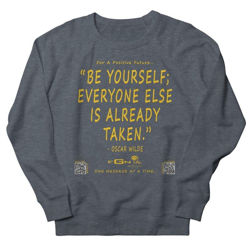 710B - Be Yourself Women's Sweatshirt by FGN Inc. Online Shop