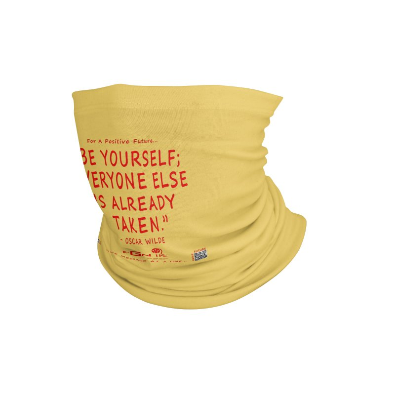 710C - Be Yourself Accessories Neck Gaiter by FGN Inc. Online Shop