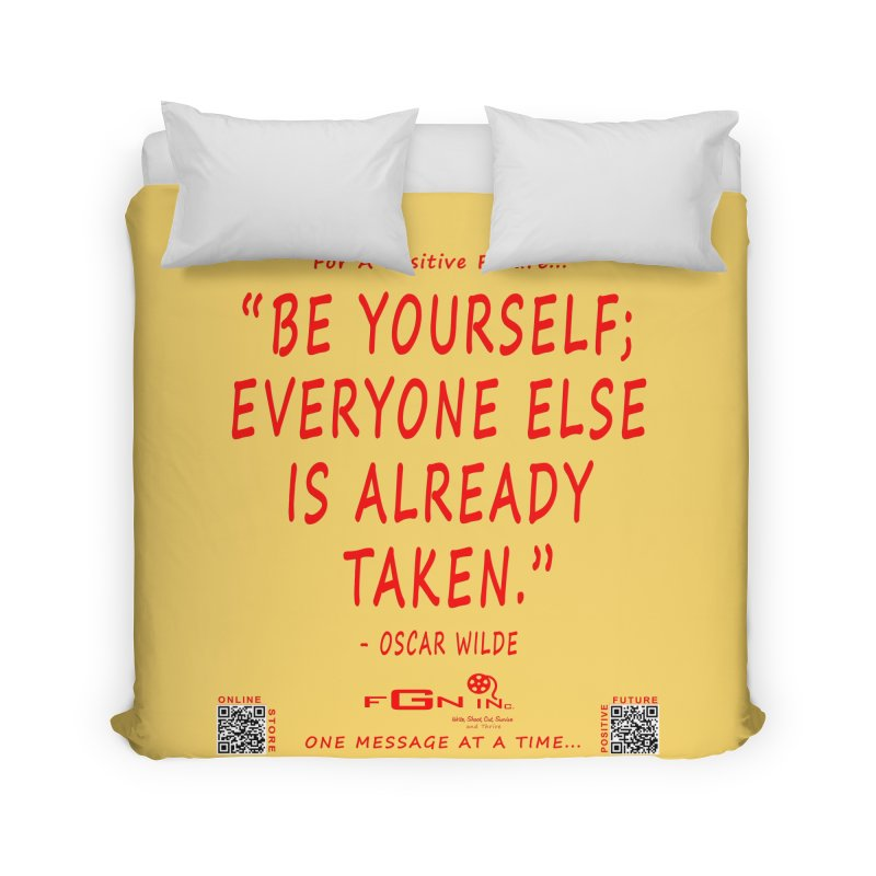 710C - Be Yourself Home Duvet by FGN Inc. Online Shop