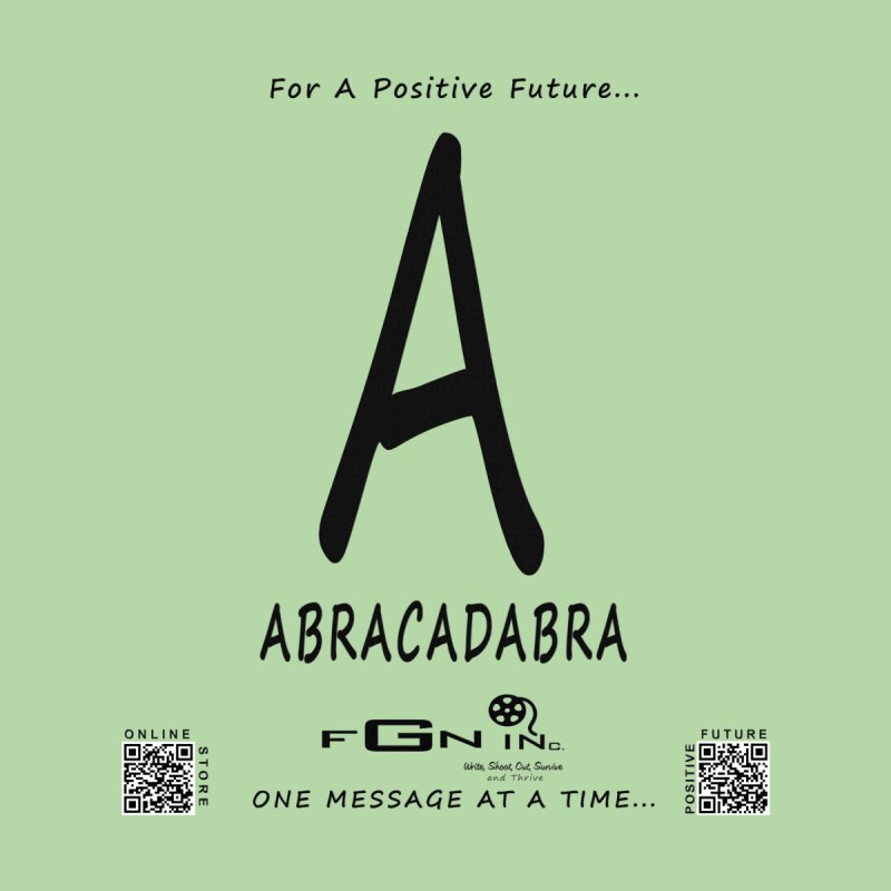 661 - A For Abracadabra None  by FGN Inc. Online Shop
