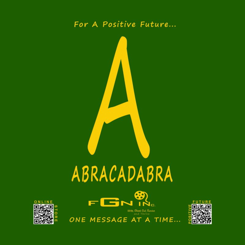 661B - A For Abracadabra None  by FGN Inc. Online Shop