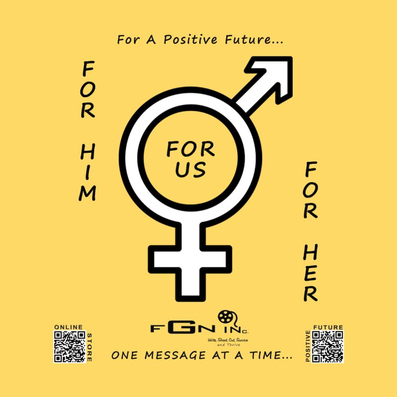 669 - For Her - For Him - For US Women's Fitted T-Shirt by FGN Inc. Online Shop