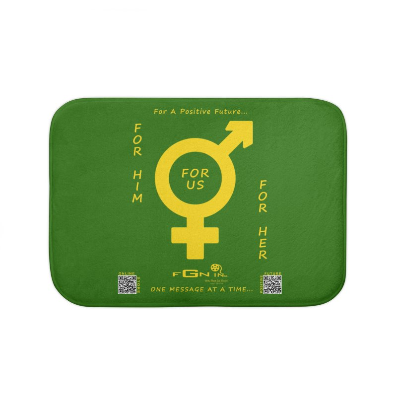 669B - For Her - For Him - For Us Home Bath Mat by FGN Inc. Online Shop