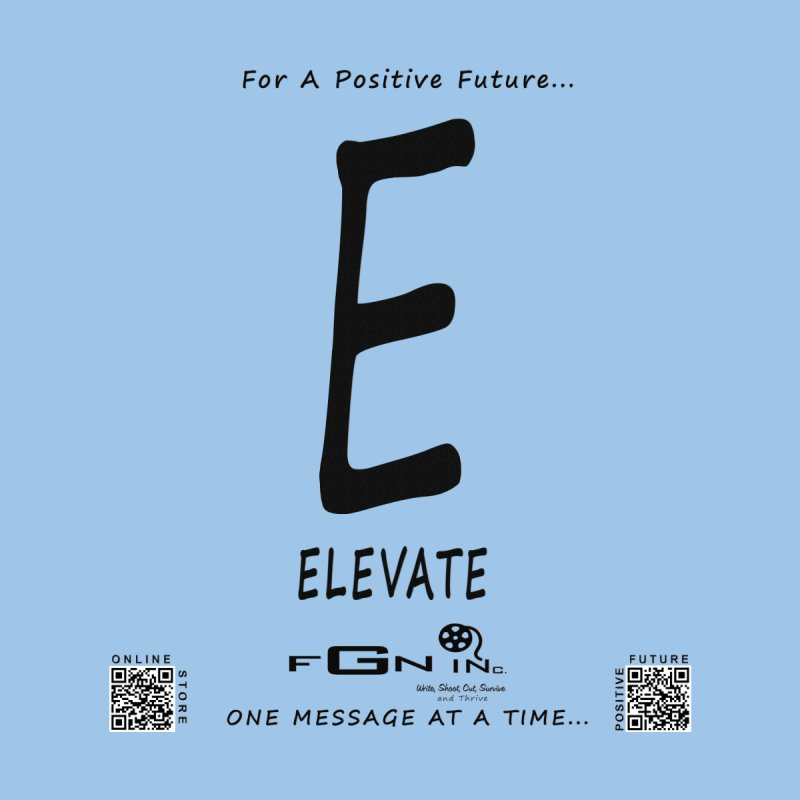 670 - E For Elevate None  by FGN Inc. Online Shop