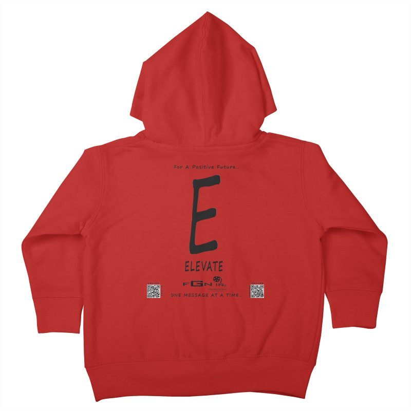 670 - E For Elevate Kids Toddler Zip-Up Hoody by FGN Inc. Online Shop