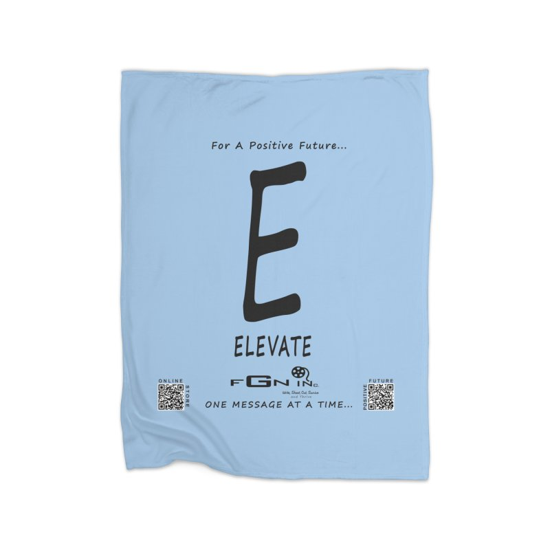670 - E For Elevate Home Blanket by FGN Inc. Online Shop
