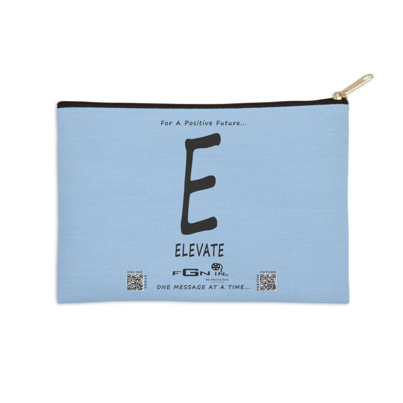 670 - E For Elevate Accessories Zip Pouch by FGN Inc. Online Shop