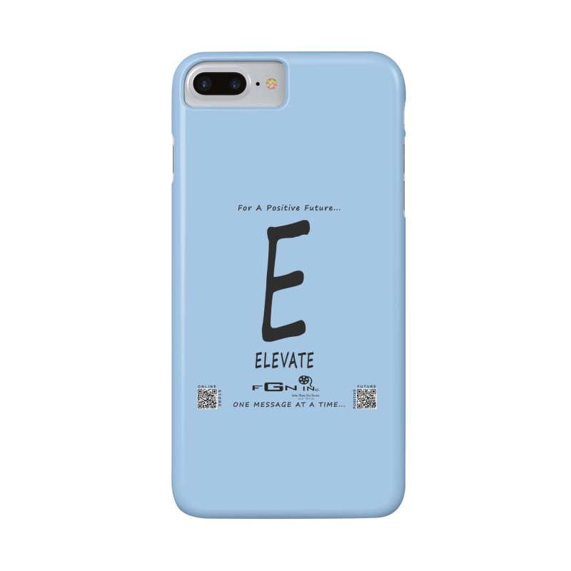 670 - E For Elevate Accessories Phone Case by FGN Inc. Online Shop