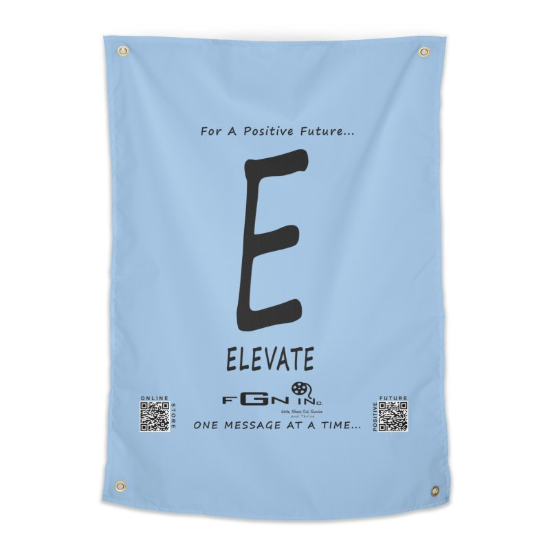 670 - E For Elevate Home Tapestry by FGN Inc. Online Shop