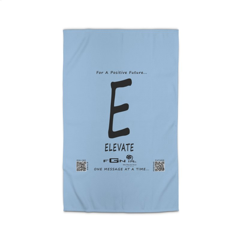 670 - E For Elevate Home Rug by FGN Inc. Online Shop