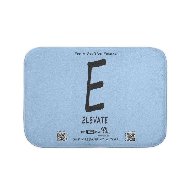 670 - E For Elevate Home Bath Mat by FGN Inc. Online Shop