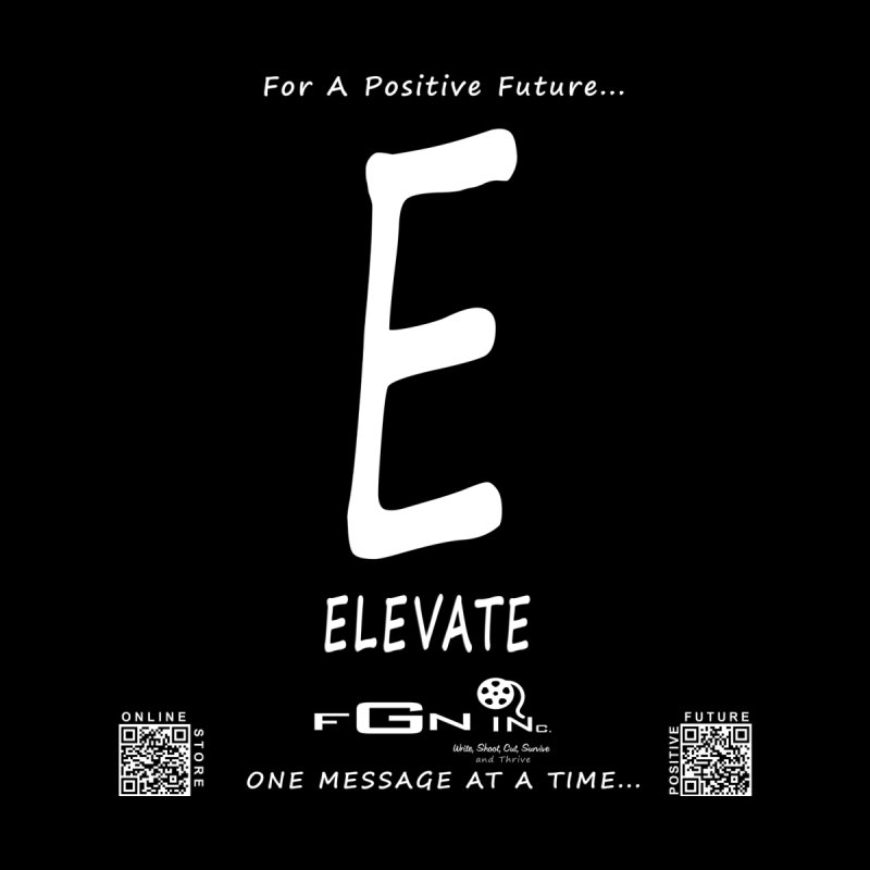 670A - E For Elevate None  by FGN Inc. Online Shop