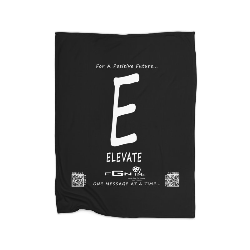670A - E For Elevate Home Blanket by FGN Inc. Online Shop
