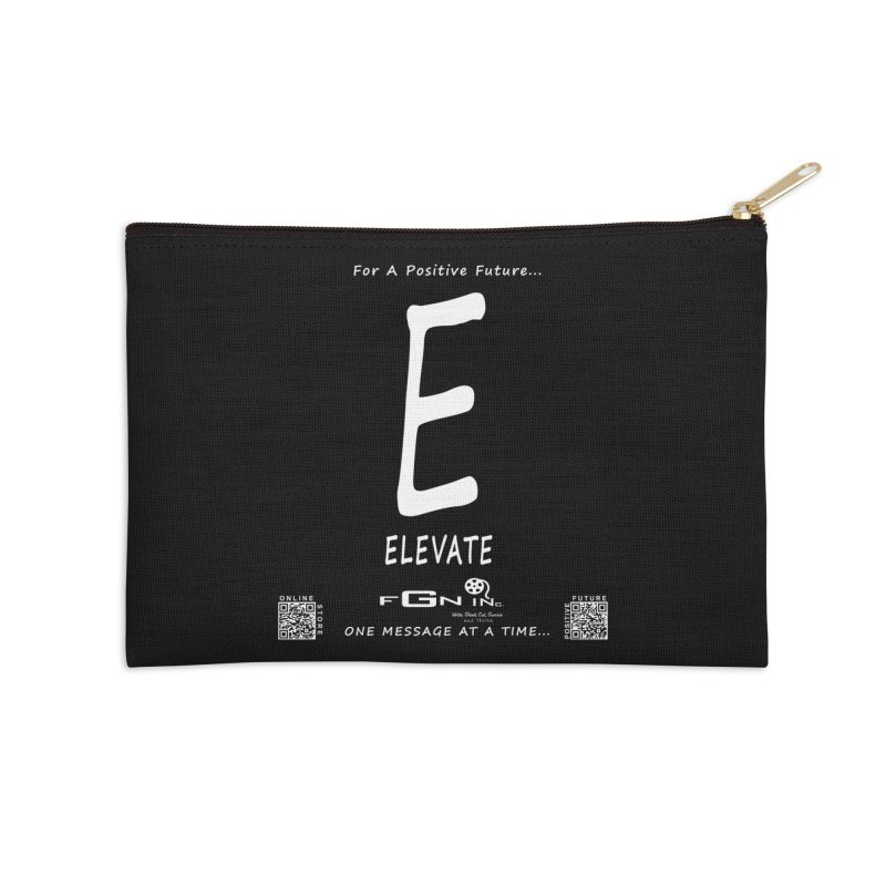 670A - E For Elevate Accessories Zip Pouch by FGN Inc. Online Shop