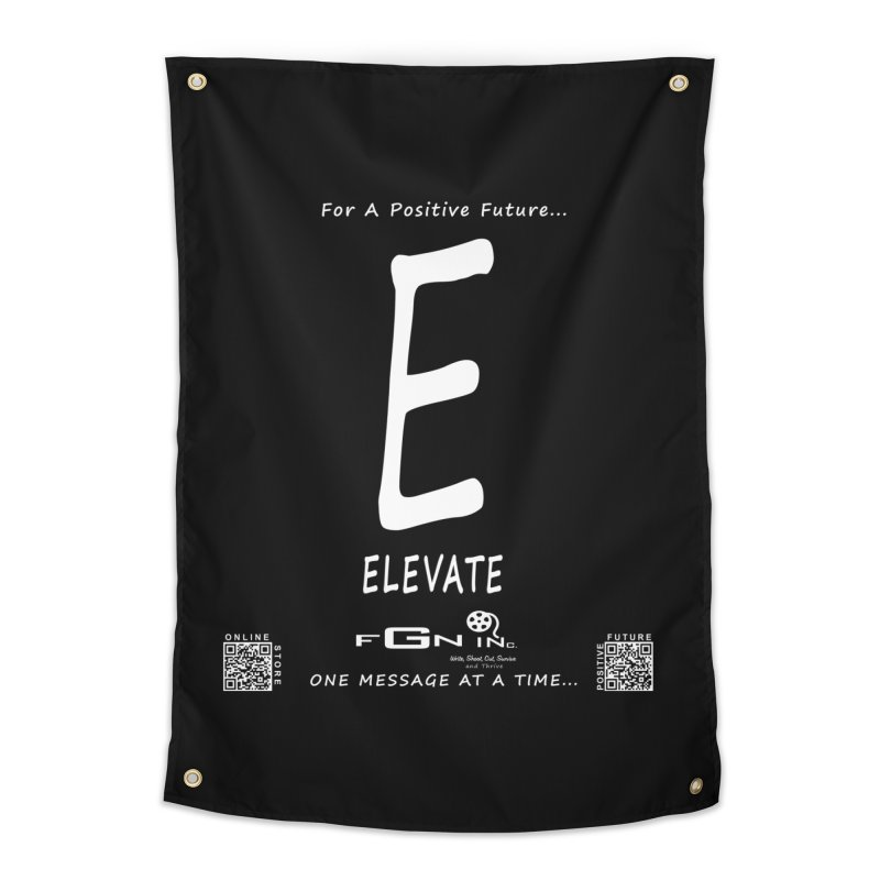 670A - E For Elevate Home Tapestry by FGN Inc. Online Shop