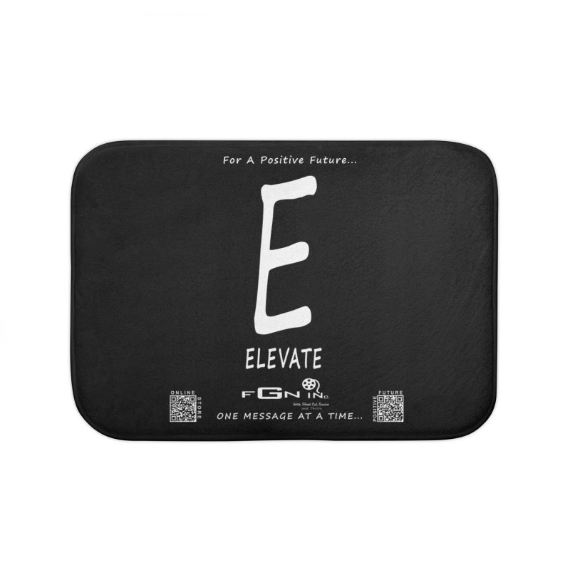 670A - E For Elevate Home Bath Mat by FGN Inc. Online Shop