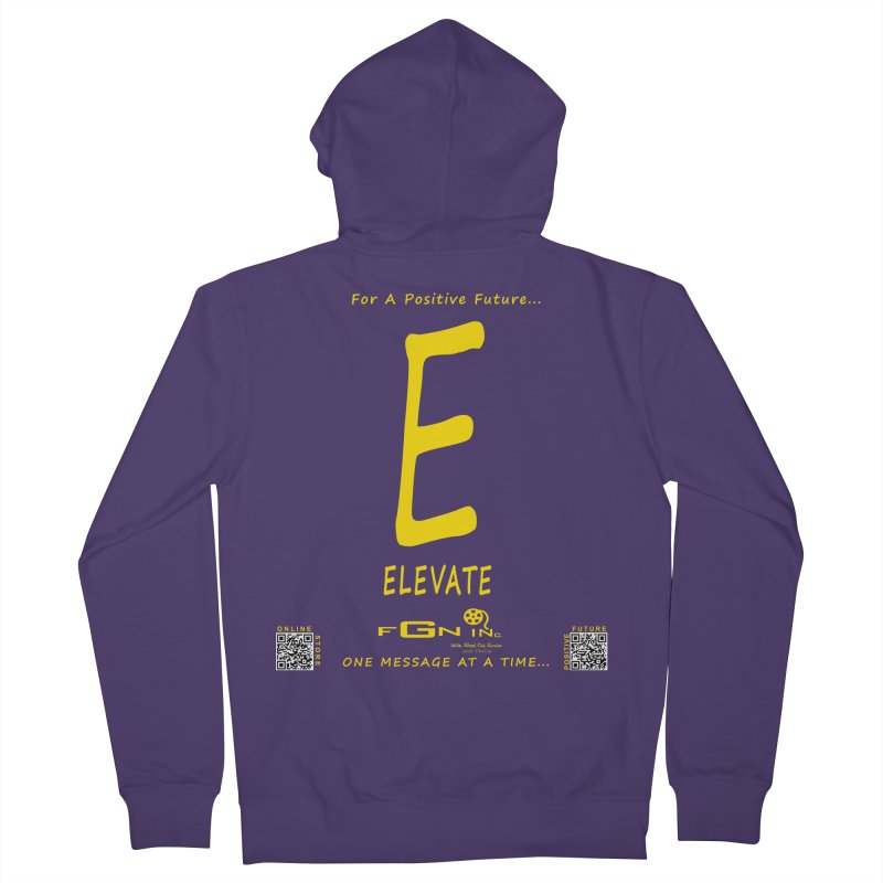 670B - E For Elevate Women's Zip-Up Hoody by FGN Inc. Online Shop
