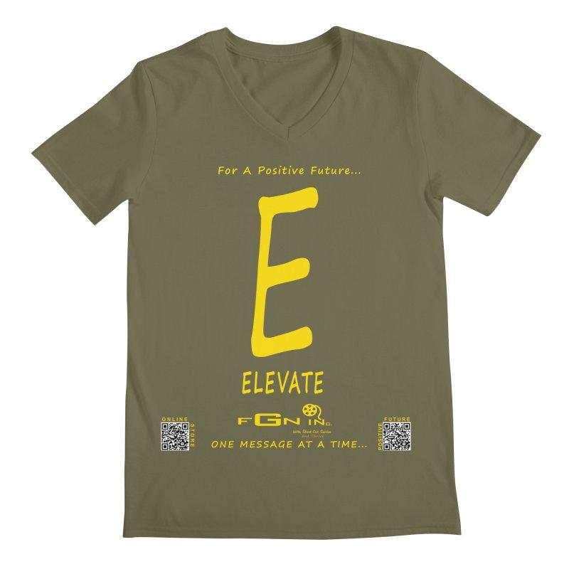 670B - E For Elevate Men's V-Neck by FGN Inc. Online Shop