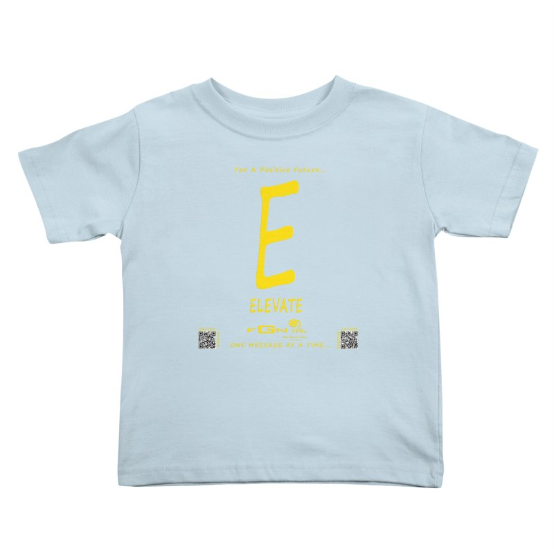 670B - E For Elevate Kids Toddler T-Shirt by FGN Inc. Online Shop