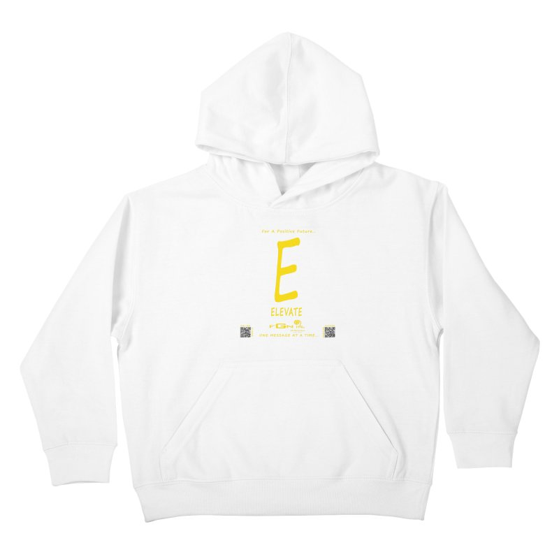 670B - E For Elevate Kids Pullover Hoody by FGN Inc. Online Shop