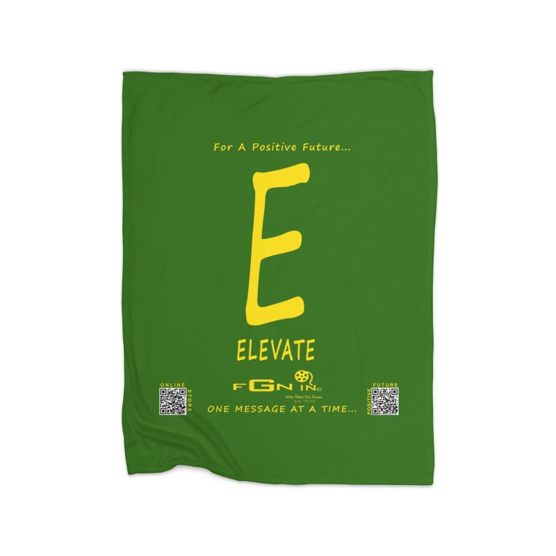 670B - E For Elevate Home Blanket by FGN Inc. Online Shop