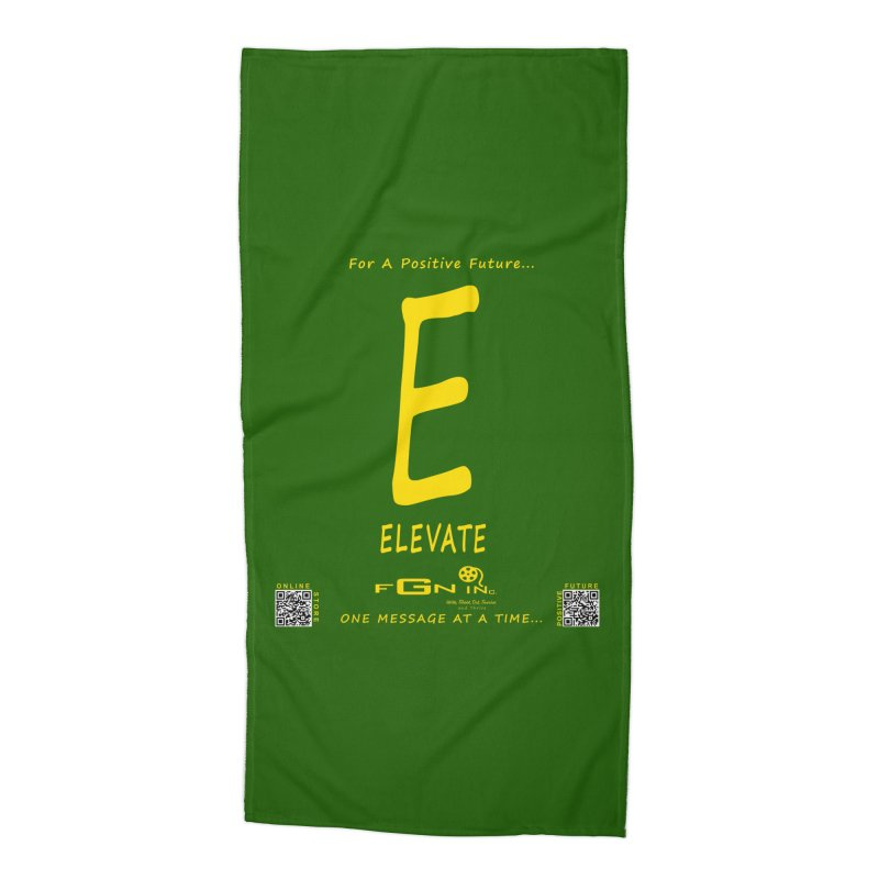 670B - E For Elevate Accessories Beach Towel by FGN Inc. Online Shop