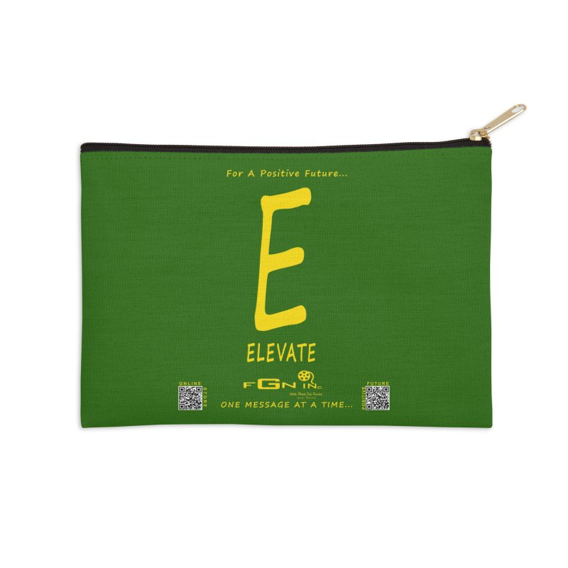670B - E For Elevate Accessories Zip Pouch by FGN Inc. Online Shop