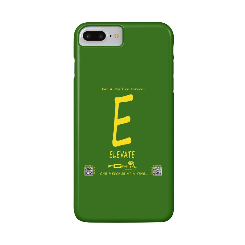 670B - E For Elevate Accessories Phone Case by FGN Inc. Online Shop