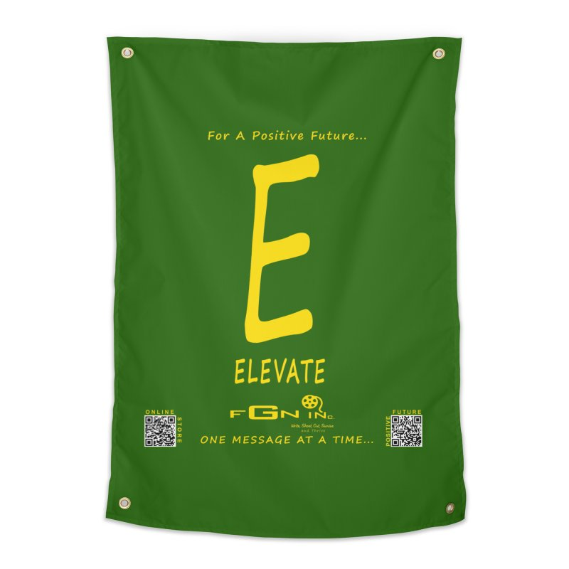 670B - E For Elevate Home Tapestry by FGN Inc. Online Shop