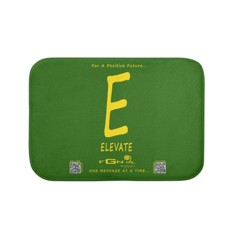 670B - E For Elevate Home Bath Mat by FGN Inc. Online Shop
