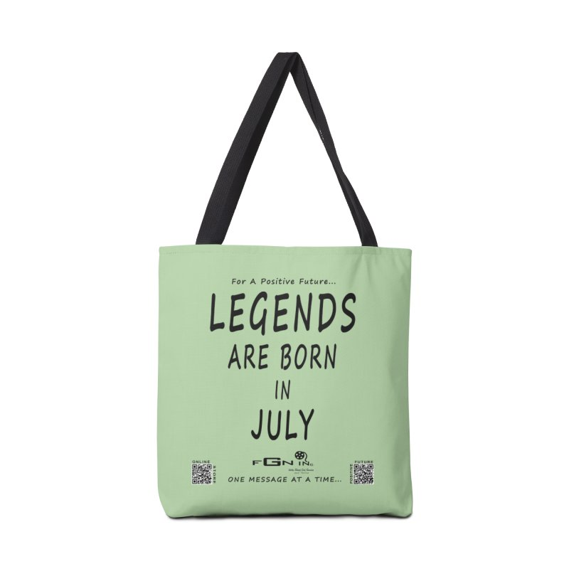 671 - Legends Are Born In July Accessories Bag by FGN Inc. Online Shop