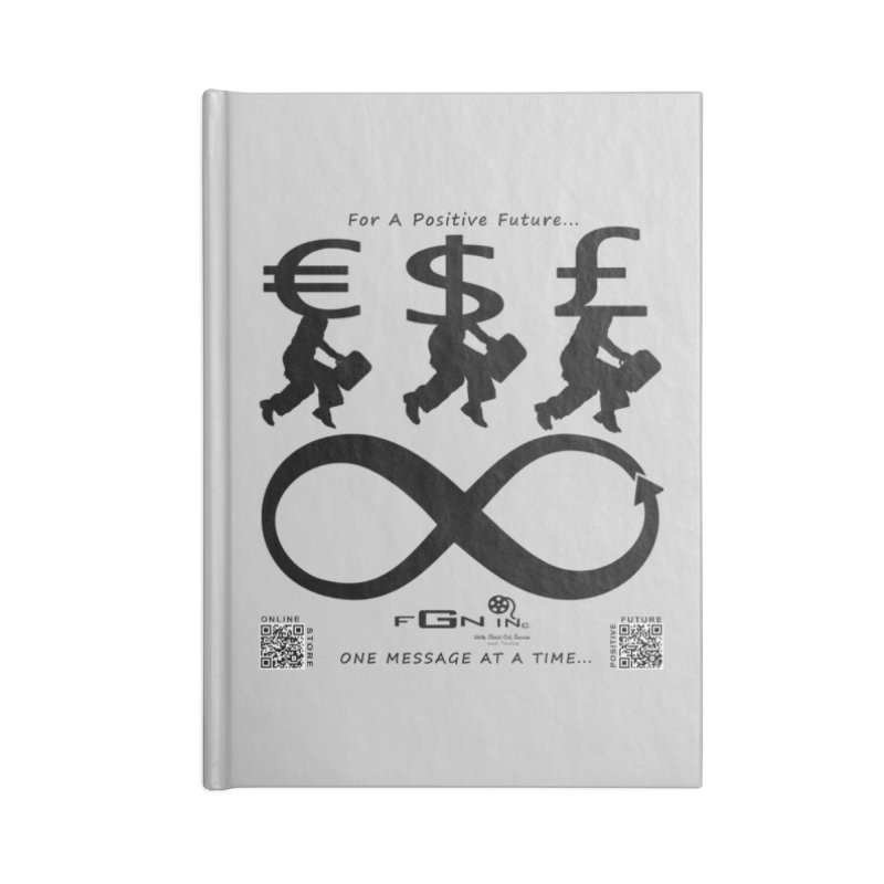 672 - The Infinity Money Men Accessories Notebook by FGN Inc. Online Shop