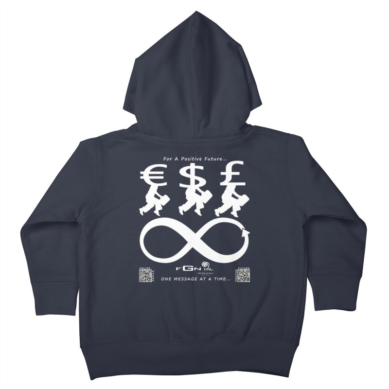 672A - The Infinity Money Men Kids Toddler Zip-Up Hoody by FGN Inc. Online Shop