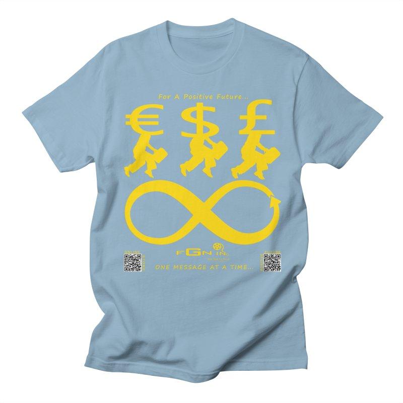 672B - The Infinity Money Men Men's T-shirt by FGN Inc. Online Shop