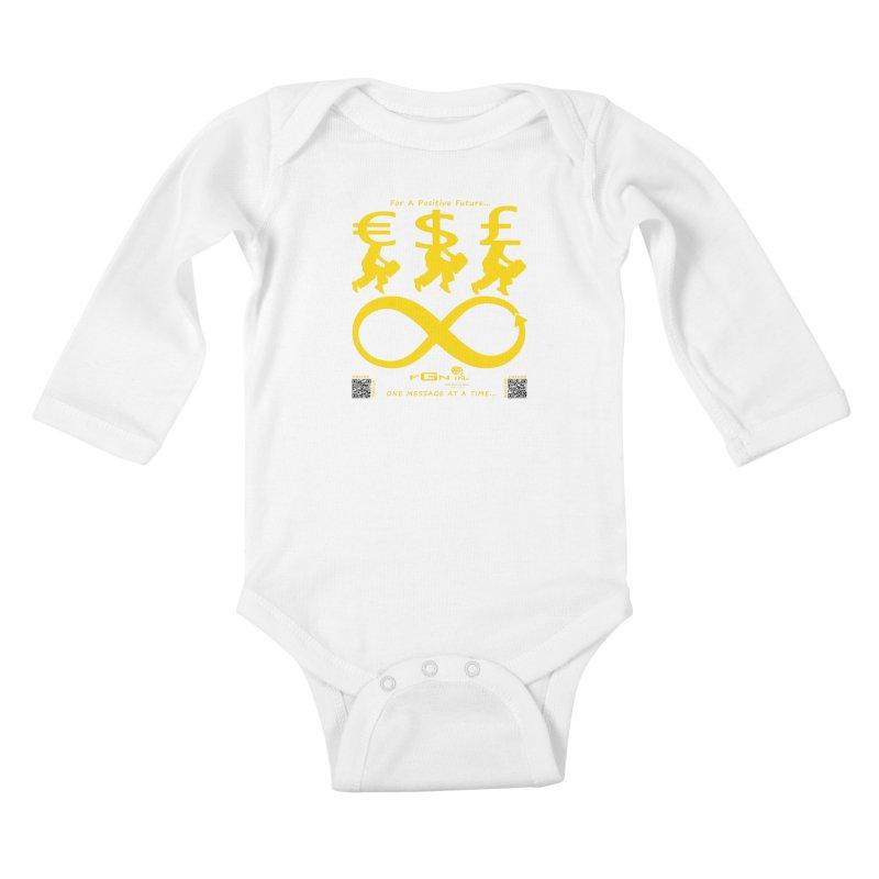 672B - The Infinity Money Men Kids Baby Longsleeve Bodysuit by FGN Inc. Online Shop