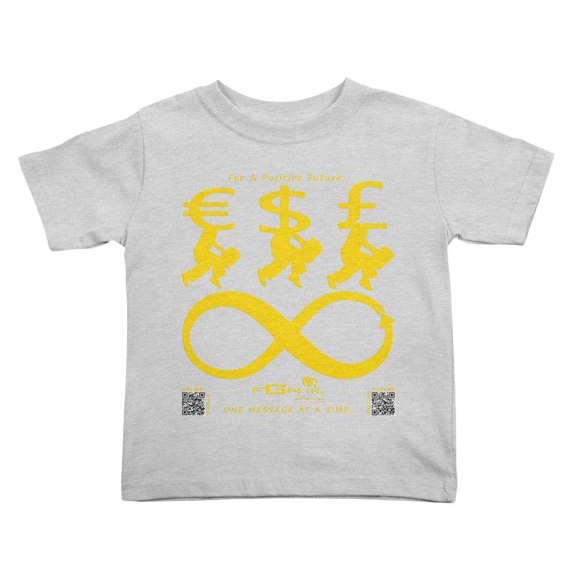 672B - The Infinity Money Men Kids Toddler T-Shirt by FGN Inc. Online Shop