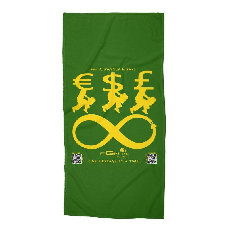 672B - The Infinity Money Men Accessories Beach Towel by FGN Inc. Online Shop