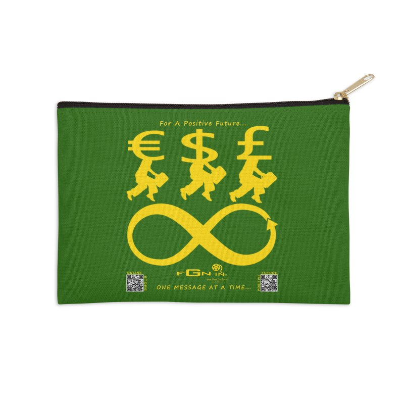672B - The Infinity Money Men Accessories Zip Pouch by FGN Inc. Online Shop