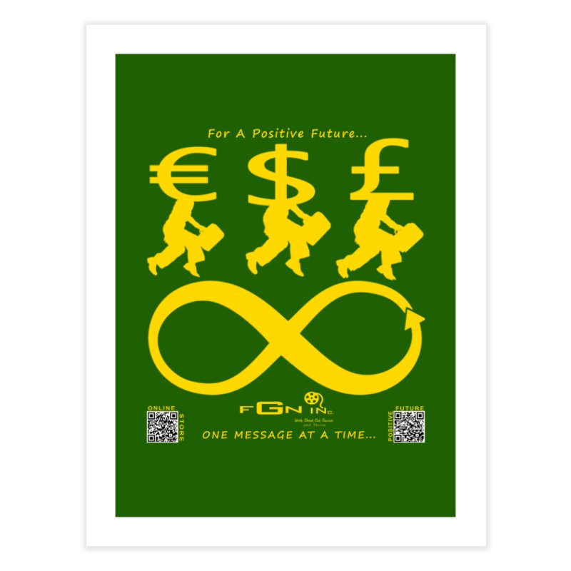 672B - The Infinity Money Men Home Fine Art Print by FGN Inc. Online Shop