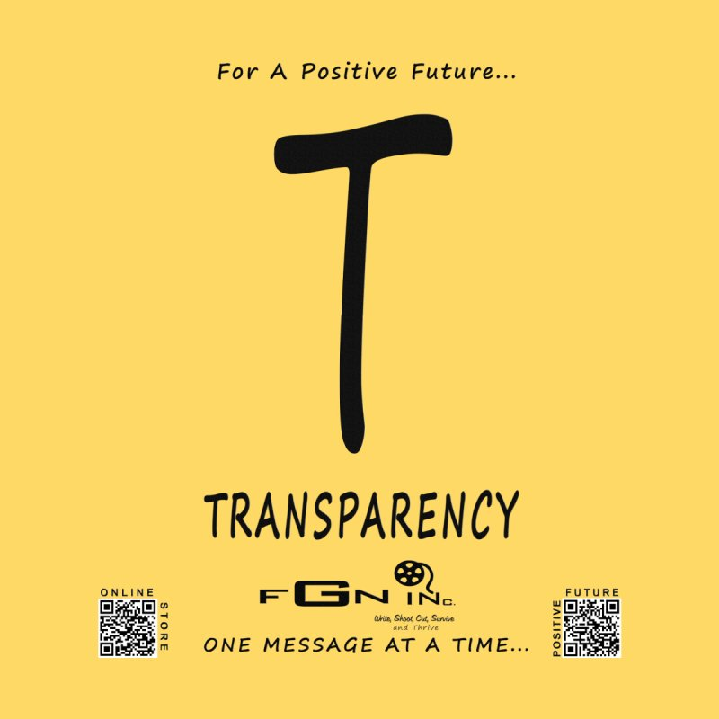 678 - T For Transparency by FGN Inc. Online Shop