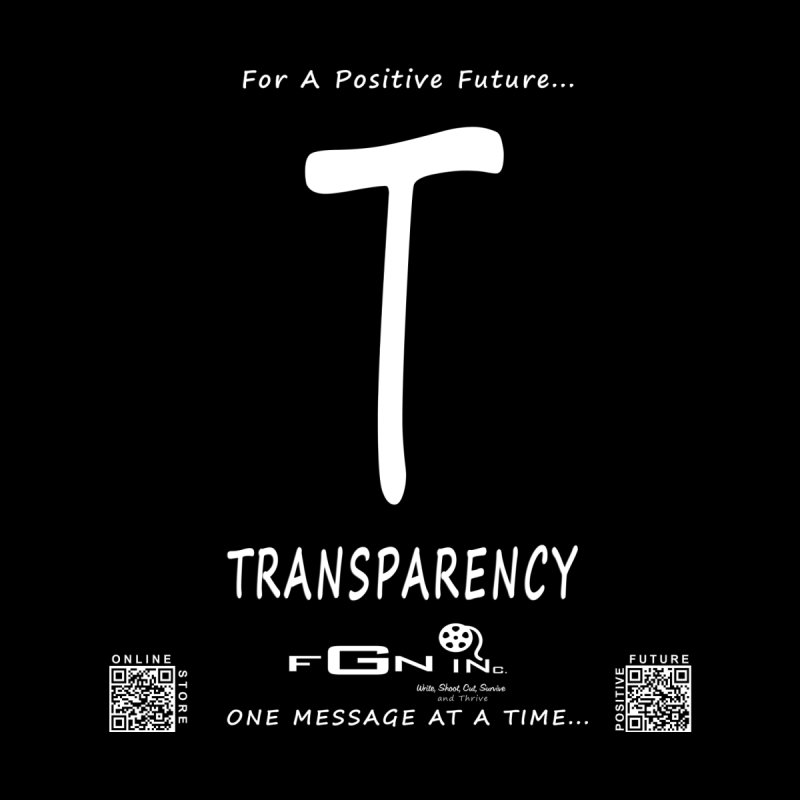 678A - T For Transparency  by FGN Inc. Online Shop