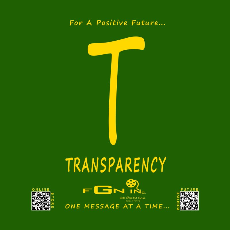 678B - T For Transparency by FGN Inc. Online Shop