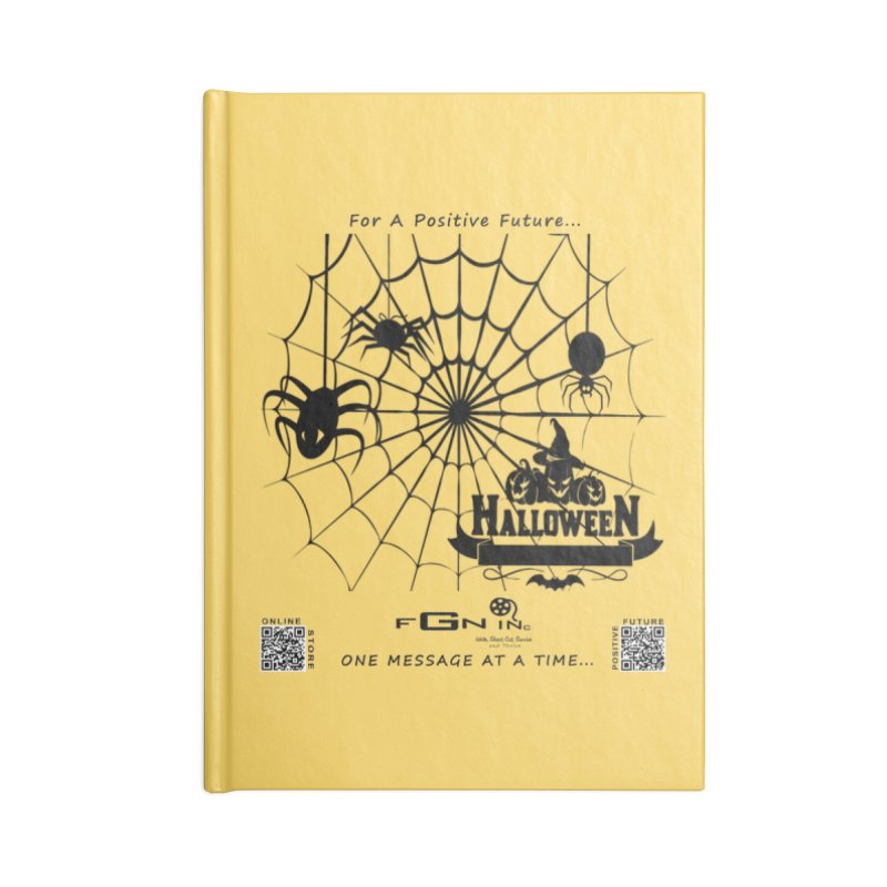 682 - HalloweeN Accessories Notebook by FGN Inc. Online Shop