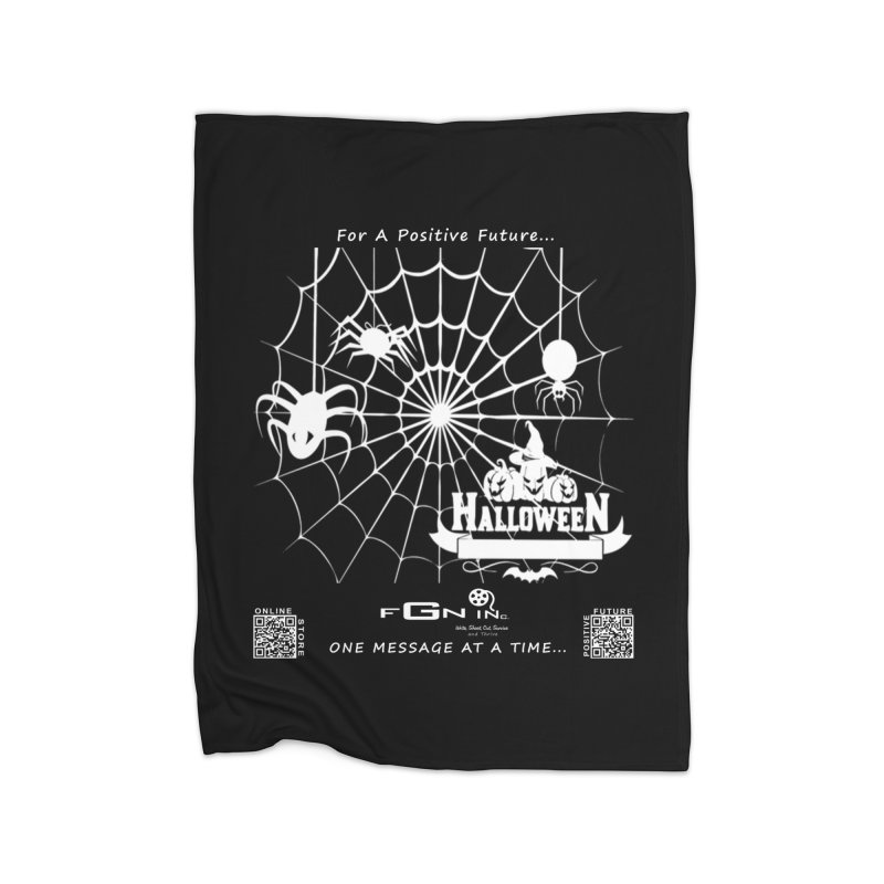 682A - HalloweeN Home Blanket by FGN Inc. Online Shop