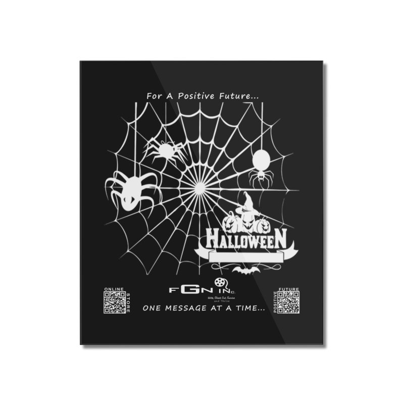 682A - HalloweeN Home Mounted Acrylic Print by FGN Inc. Online Shop