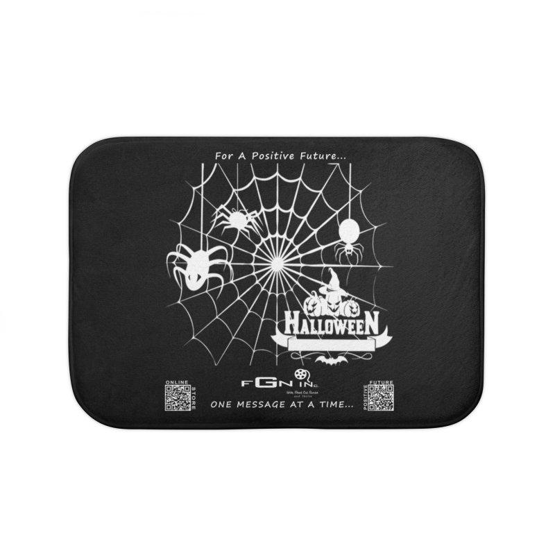682A - HalloweeN Home Bath Mat by FGN Inc. Online Shop
